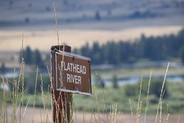 National Bison Range Flathead River Valley