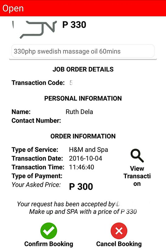 Dirty Jobs App  Review Home Massage Service Manila