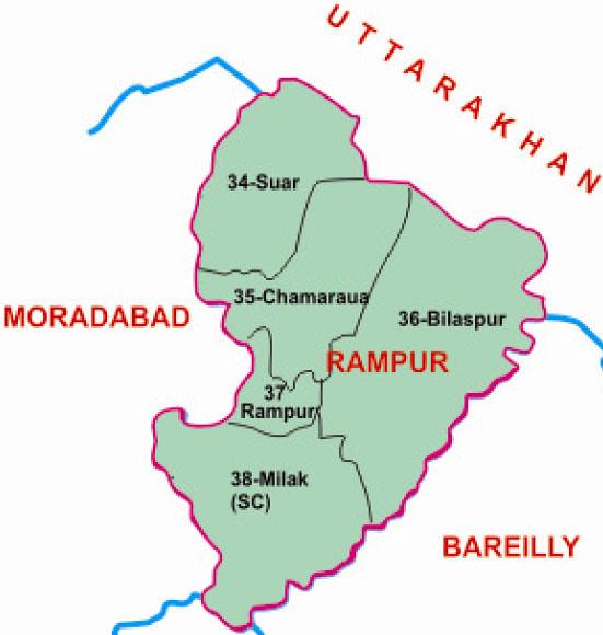 Rampur district Uttar Pradesh Election 2017