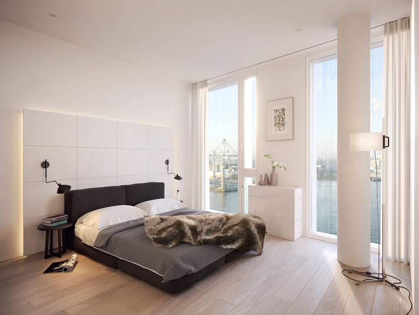 Новый ЖК в Гамбурге. Проект Richard Meier & Partners