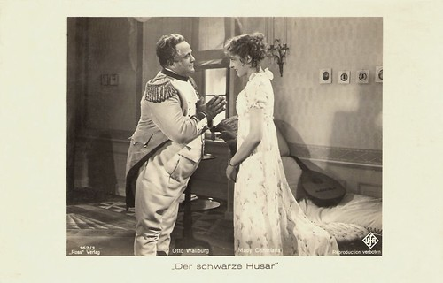 Otto Wallburg and Mady Christians in Der Schwarze Husar (1932)