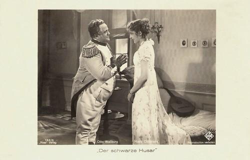 Otto Wallburg and Mady Christians in Der Schwarze Husar (1932)