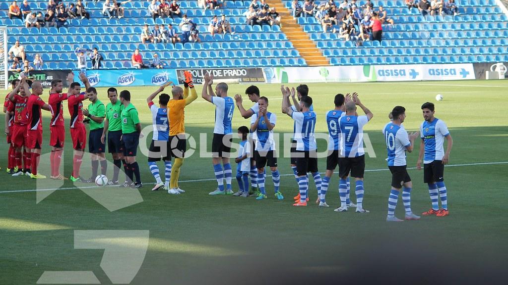 Hércules-Tudelano (1-0) Fotos: J. A. Soler
