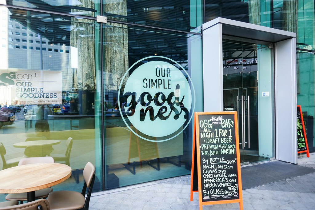 Suntec City Restaurants: OSG Bar+