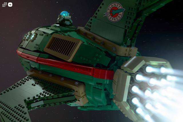 Lego UCS Planet Express Ship