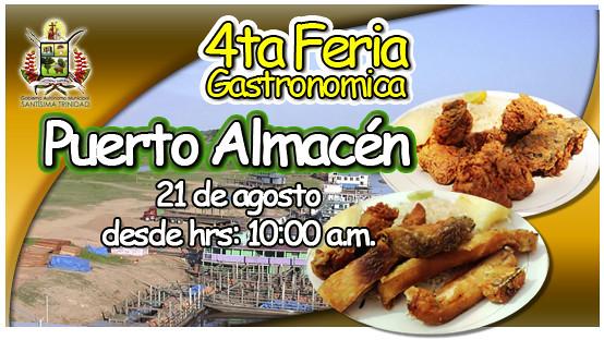 """4ta Feria Gastronomica Puerto Almacen"""""""