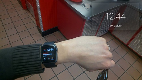 Apple Watch #throughglass