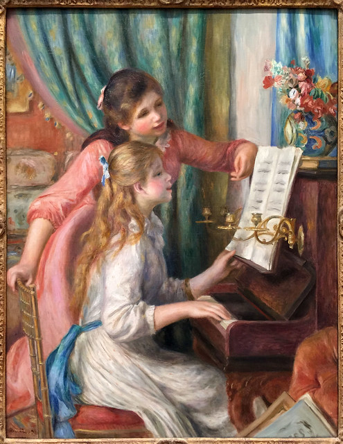Young Girls at the Piano, Renoir
