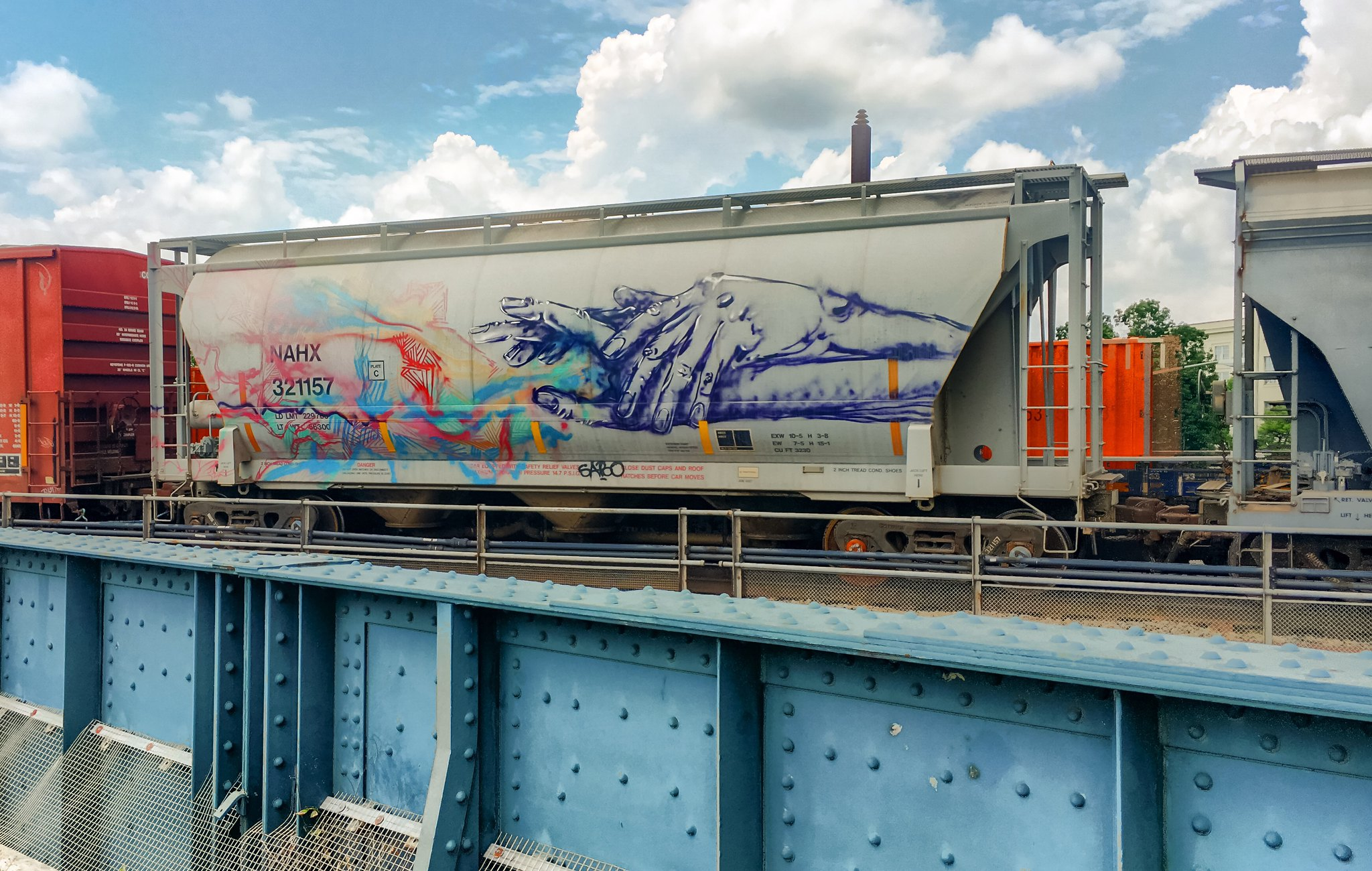 Train Graffiti