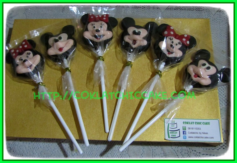 Lolipop Mickey dan Minnie