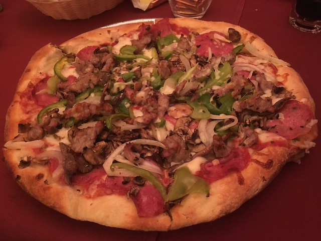 Bill's special pizza - The Sausage Factory
