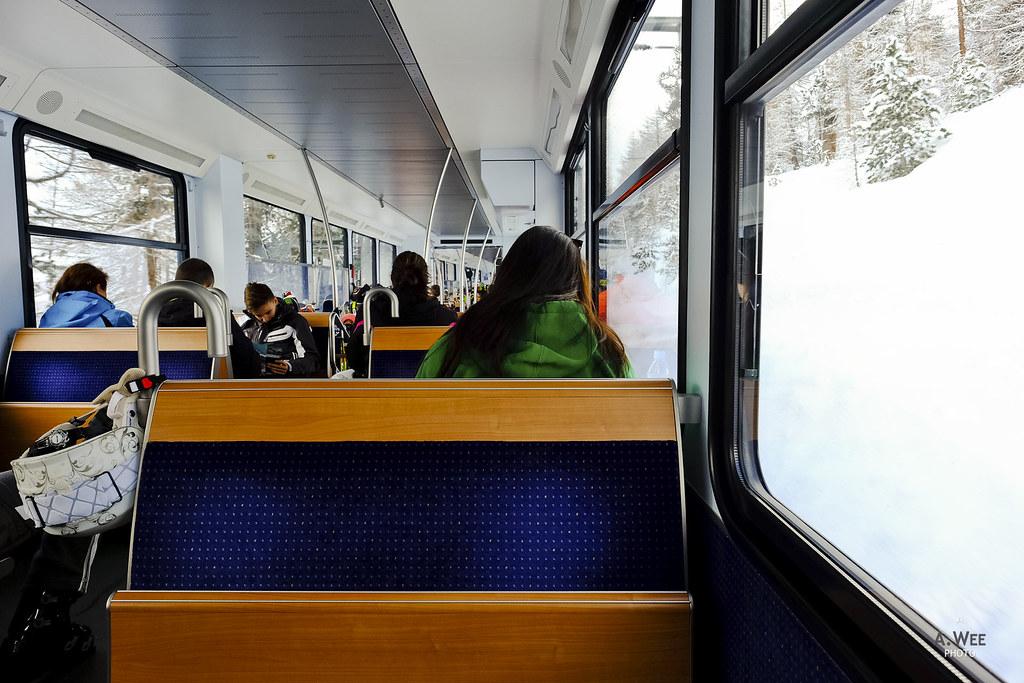 Onboard the Gornergratbahn