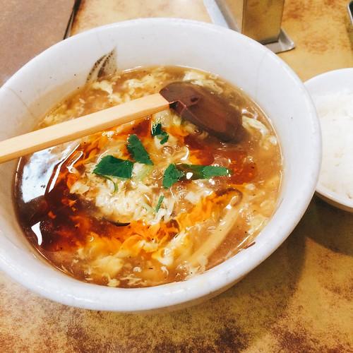 広尾の「太楼」(たろう)で酸辣湯麺(スーラータンメン) 2016.5