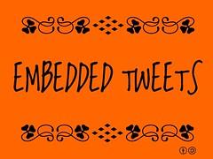 Buzzword Bingo: embedded tweets