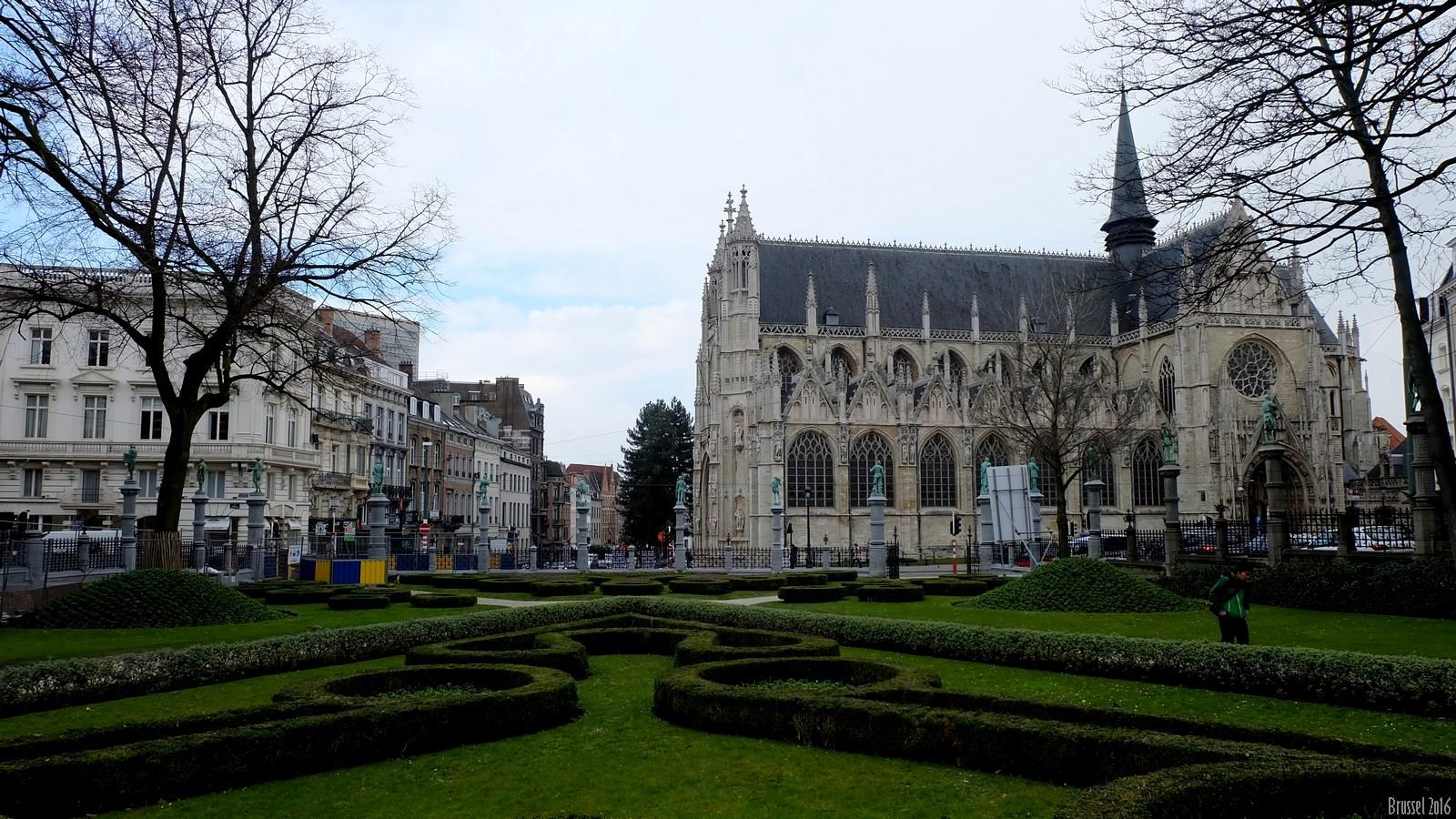 Square du Petit Sablon, Brussel, Belgium