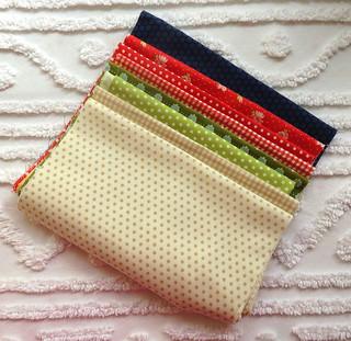Splendid Sampler Block Fabrics