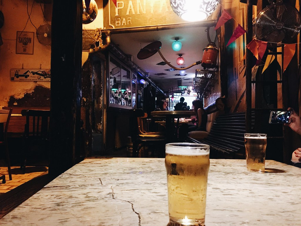 la pantalon beer bar paris