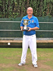 Men's county 2 wood singles winner 2016