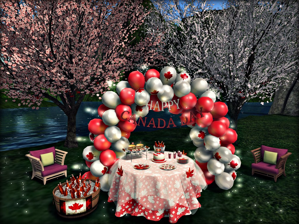 Aphrodite - Canada Day Party Set