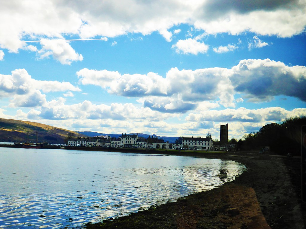 Inveraray on Loch Fyne, Scotland