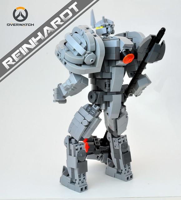Reinhardt [Overwatch] - Back