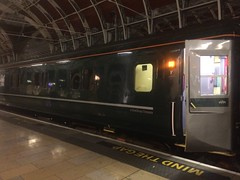 Paddington to Penzance on Night Riviera sleeper train - 23 June 2016