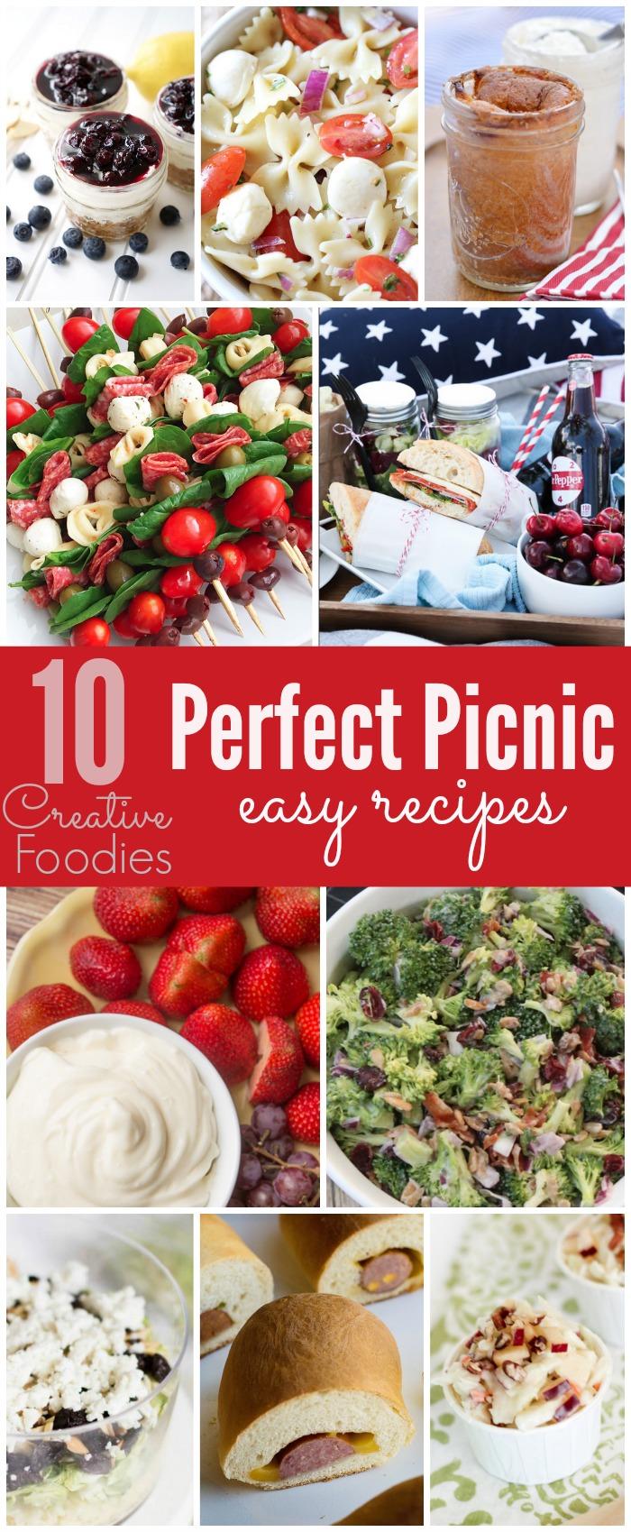 10 Easy Picnic Recipes