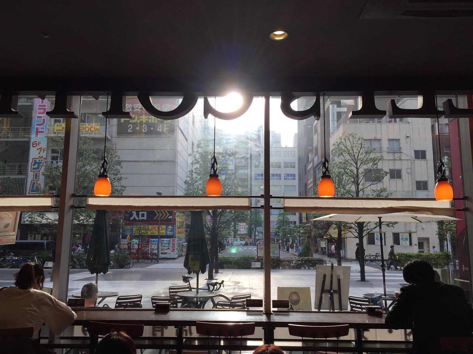 TULLY'S COFFEE in Akihabara, Japan.