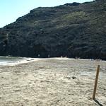 España. Almería. Playas de Cabo de Gata. Calas del Barronal