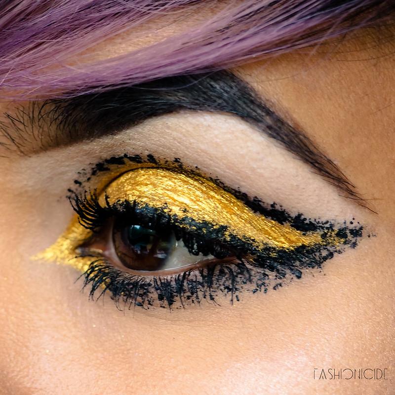 Lime Crime Velvetine Zenon Makeup Look  (2 of 4)