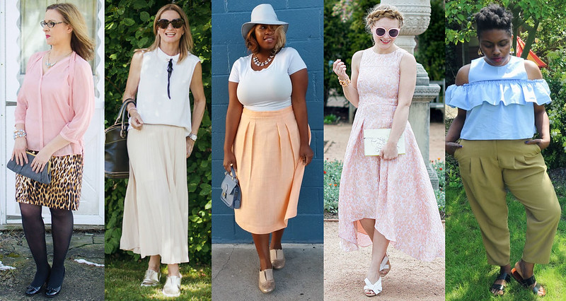 Fashion bloggers in pastels #iwillwearwhatilike