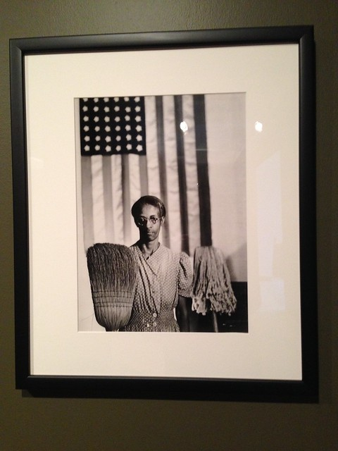 Gordon Parks, American Gothic at Hunter Museum of Art, Chattanooga TN