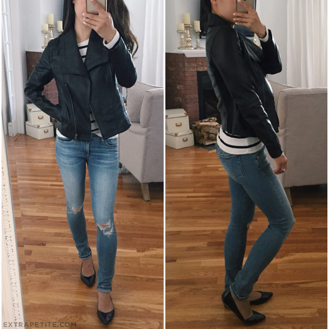 black leather jacket petites nordstrom anniversary sale 2016