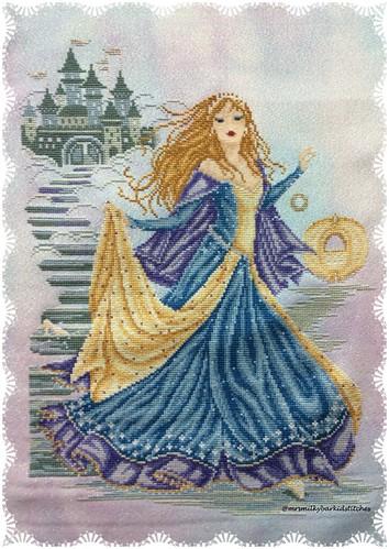 Cinderella - stitching complete