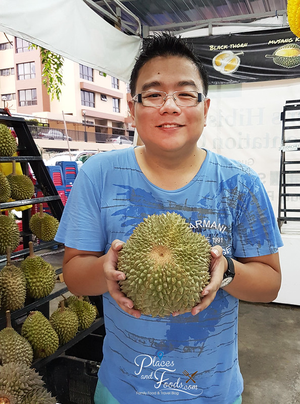 black thorn durian places and foods