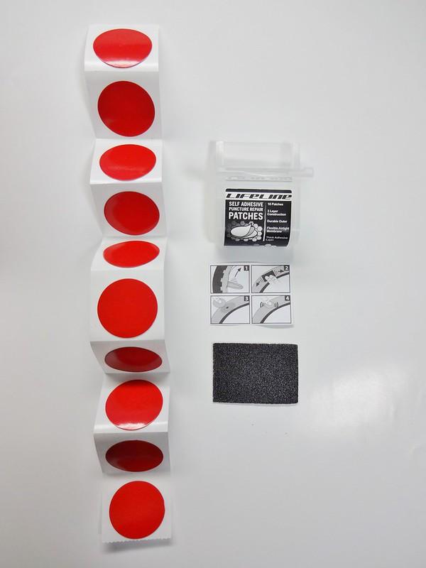 LifeLine - Self Adhesive Instant パンク修理パッチ
