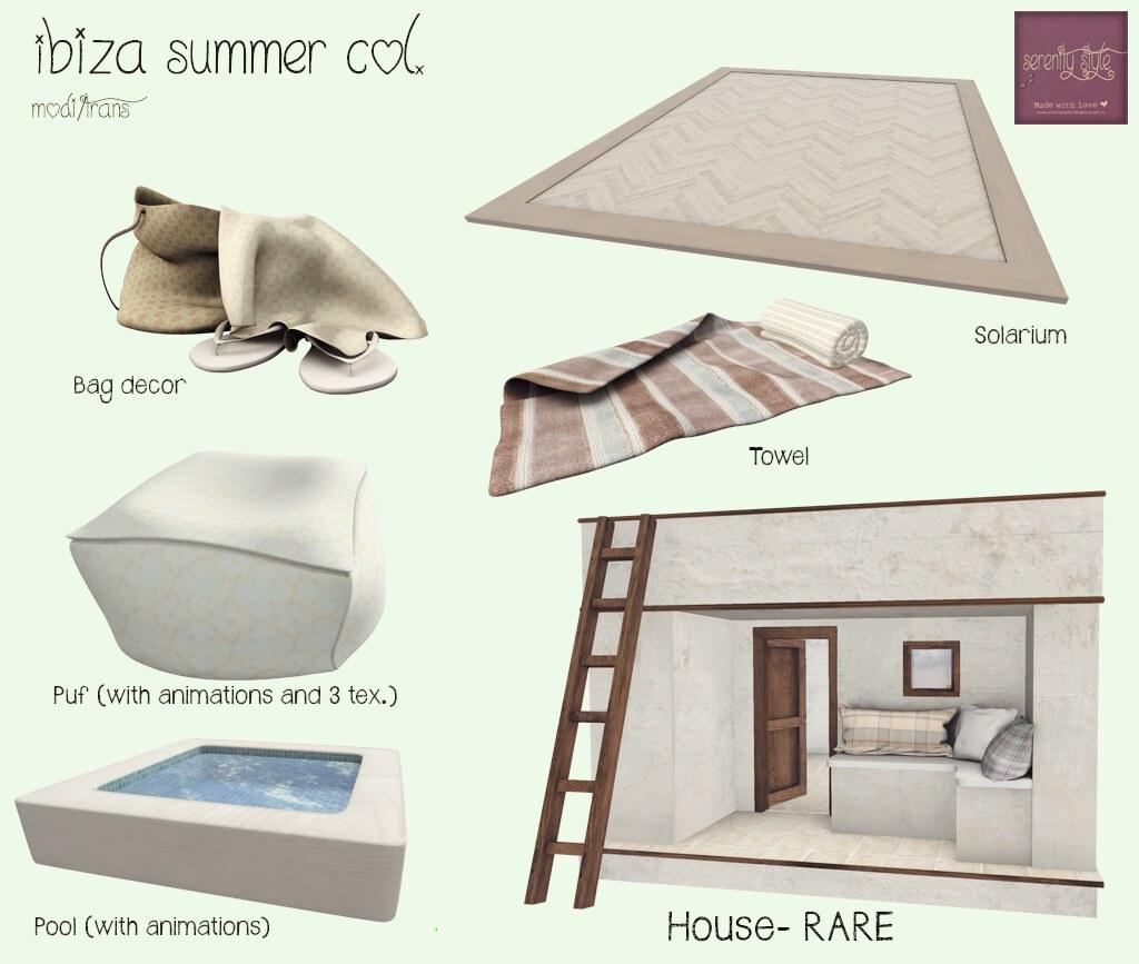 Serenity Style- Ibiza summer col. gacha key