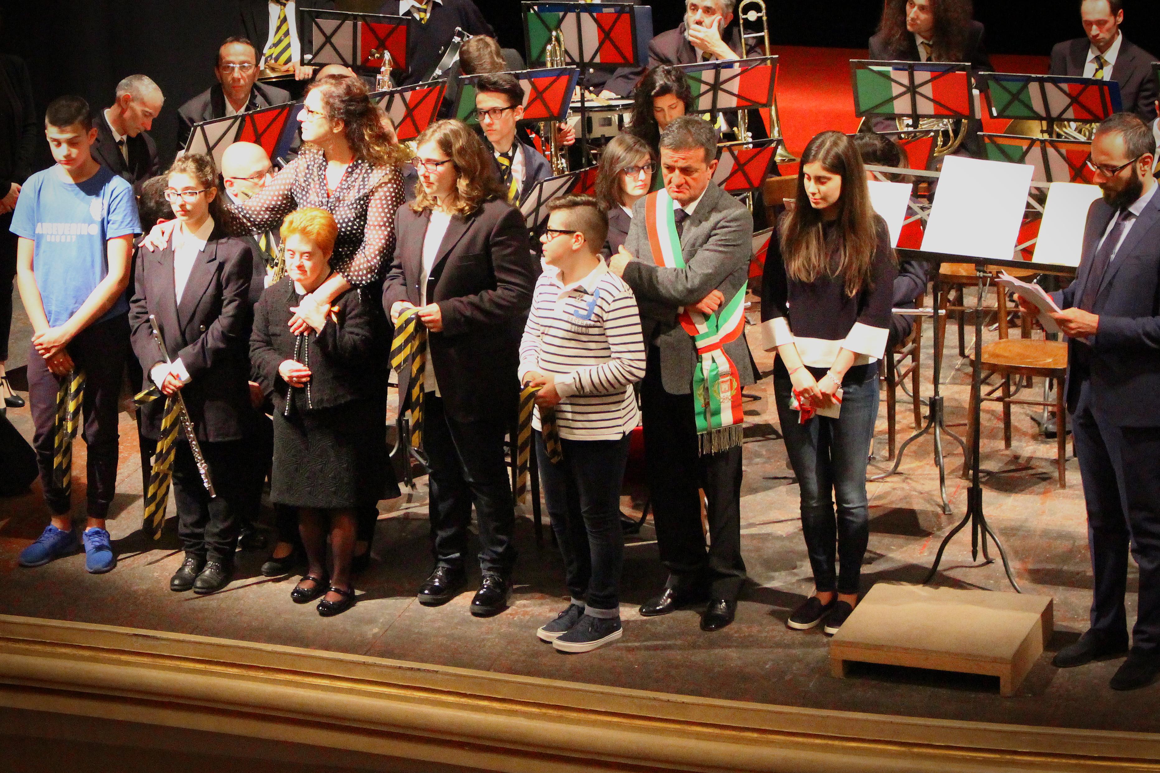 Cerimonia BENVENUTO ai nuovi musicanti della #BandaAdriani