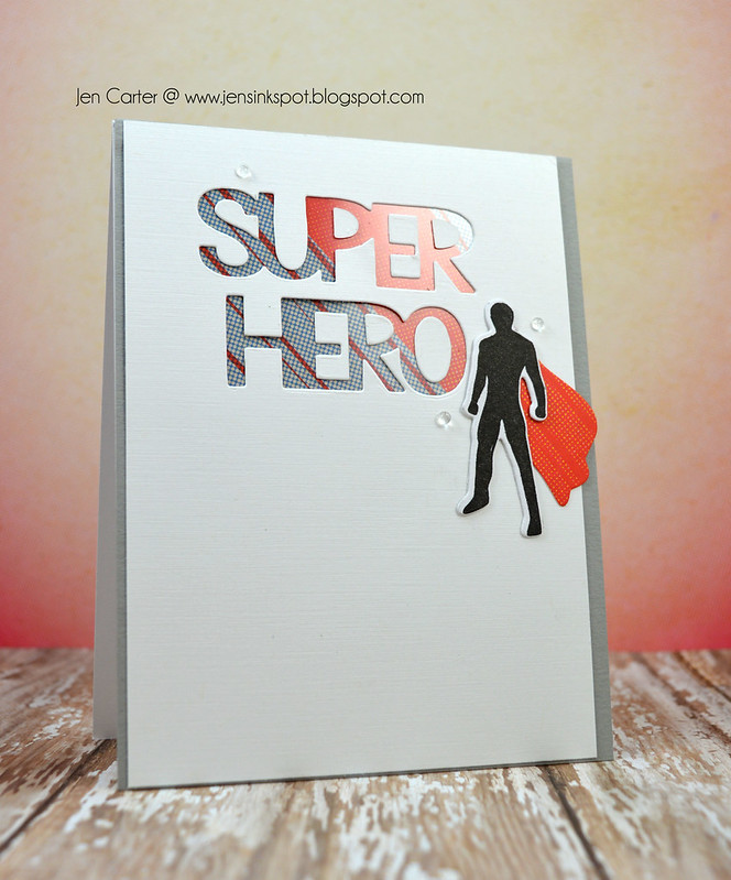 Jen Carter Super Hero Man