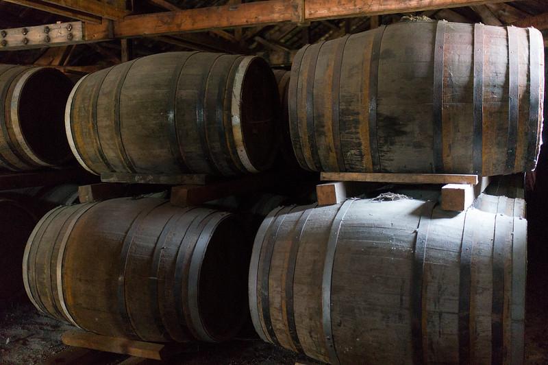ニッカウヰスキー 余市蒸留所、保存されている古い樽