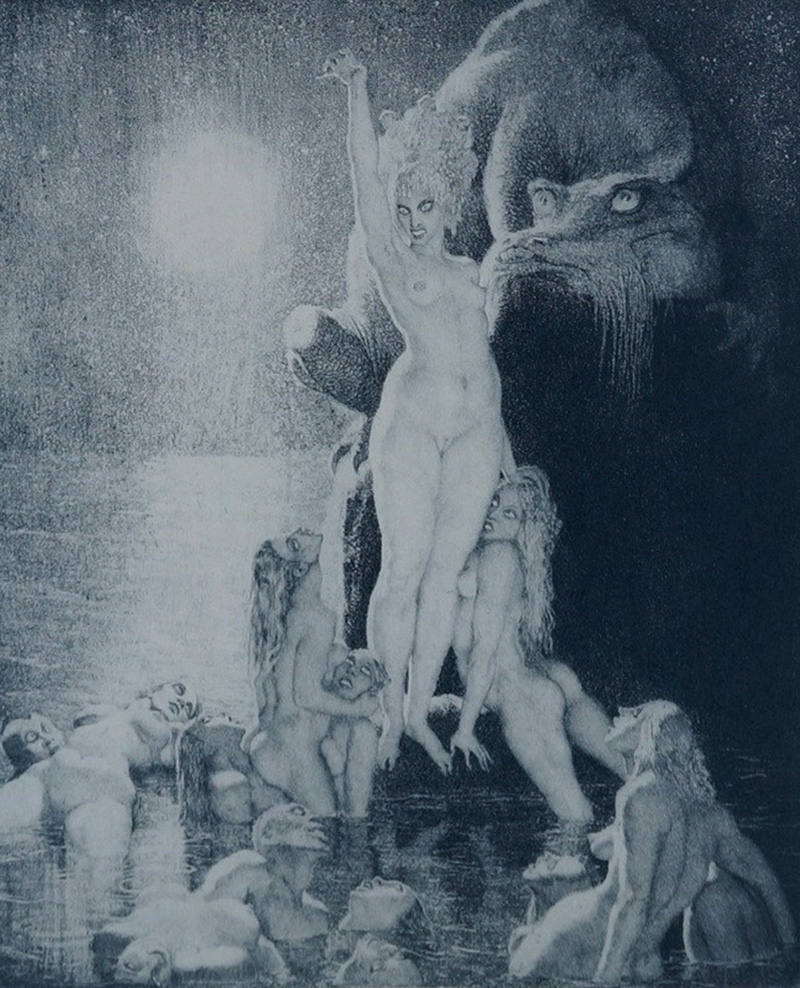 Norman Lindsay - Sea Magic