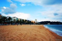 Platja de Lloret. Lloret de Mar. Spain