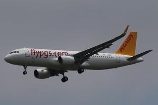 PEGASUS AIRLINES F-WWBO msn 7200 IMMAT TC-DCM