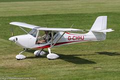 G-CHHJ - 2012 build Aeropro Eurofox, visiting Barton