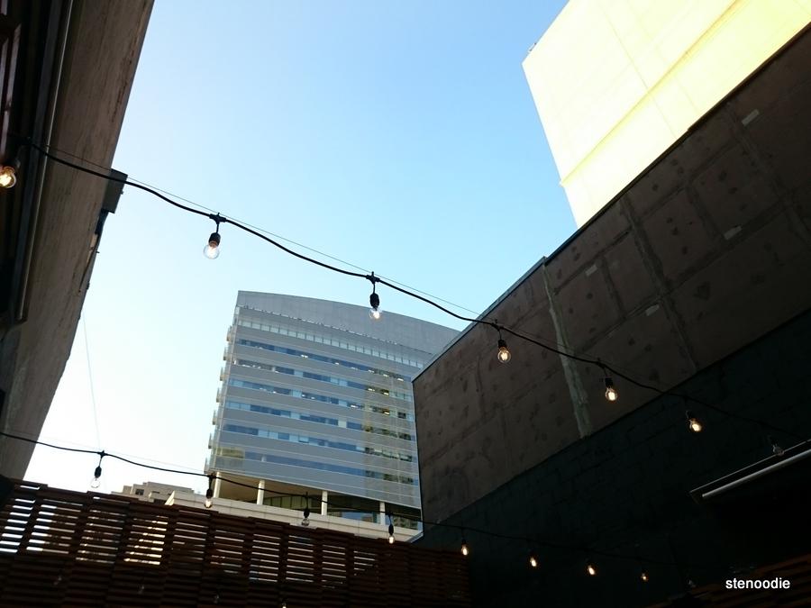 JaBistro rooftop patio view