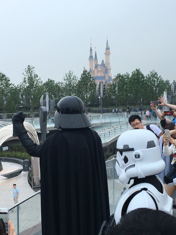 Darth Vader at Shanghai Disneyland