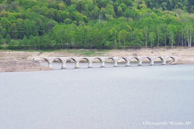 タウシュベツ橋梁②