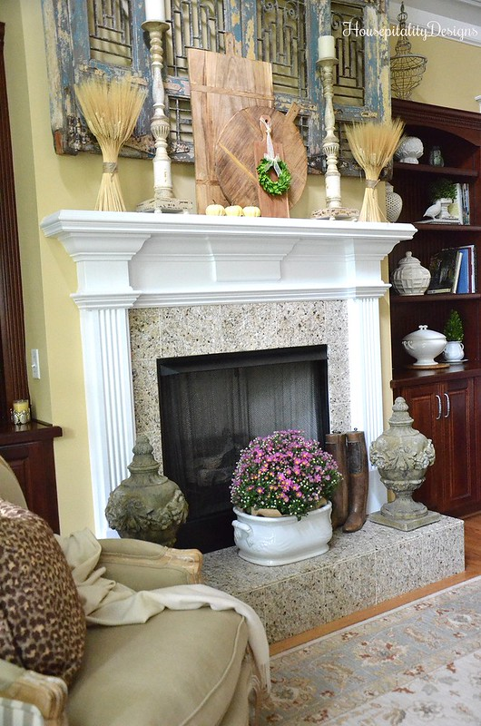 Great Room - French Country - Fall Home Tour - Housepitality Designs