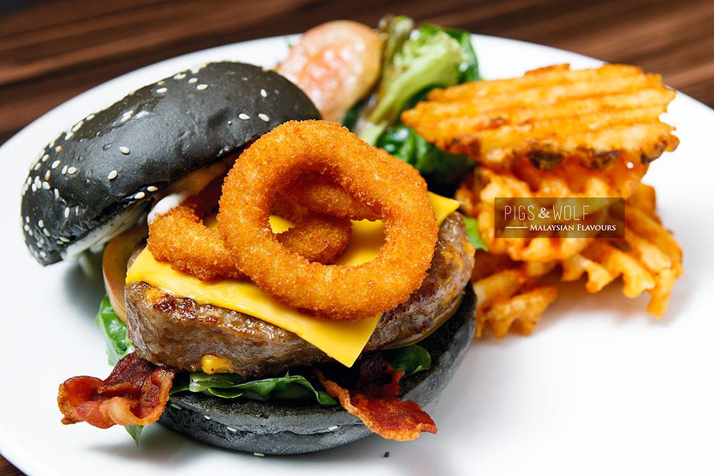 Pigs & Wolf burger