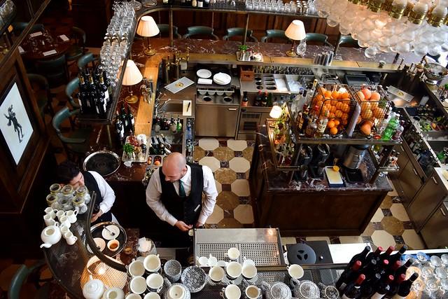 Cafe Monico, Soho | www.rachelphipps.com @rachelphipps